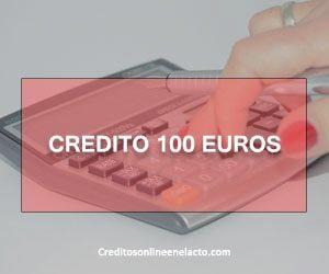 Credito 100 euros