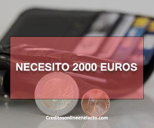 Necesito 2000 euros