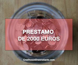 Prestamo de 2000 euros