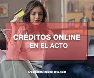 créditos online en el acto