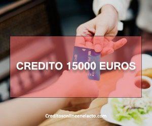 credito 15000 euros