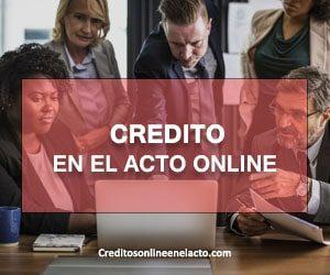 credito en el acto online