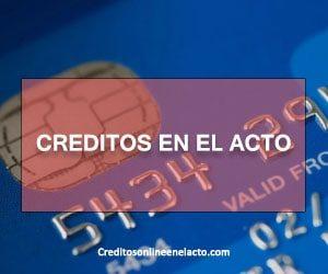creditos en el acto