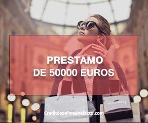 prestamo de 50000 euros