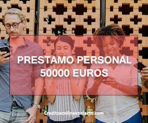 prestamo personal 50000 euros