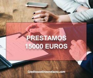prestamos 15000 euros