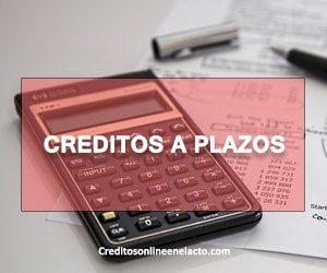 Creditos a plazos