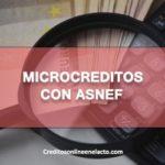 Microcreditos con ASNEF
