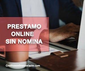 Prestamo online sin nomina