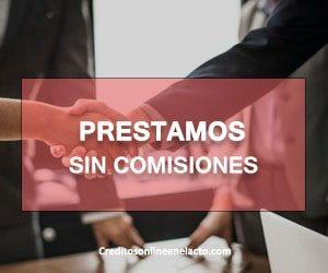 Prestamos sin comisiones