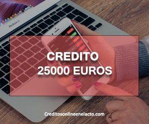 credito 25000 euros