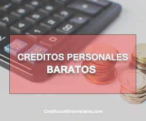 creditos personales baratos