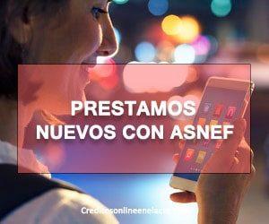 prestamos nuevos con ASNEF