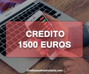 Credito 1500 euros