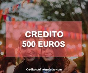 Credit 500 euros
