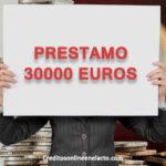 Prestamo 30000 euros