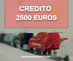 credito 2500 euros